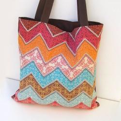 Nákupná taška Hnedá