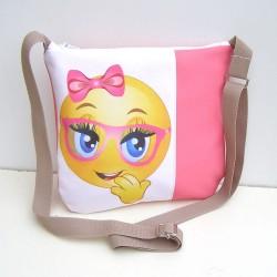 Dievčenská ružová kabelka
