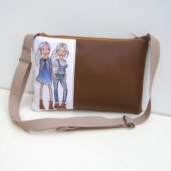 Hnedá kabelka