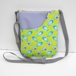 Sivá kabelka