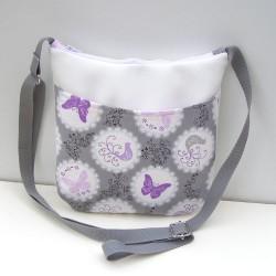 Malá kabelka Biela Motýle